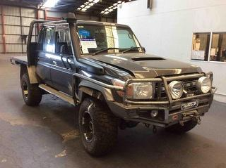 2013 Toyota Landcruiser 76/78/79 Series GXL Dual Cab Chassis Photo