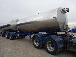 2006 Byford BFN BP4 Alby MK5 19M Lead Tanker (Milk) Sold as part of a set ATM 36,000kg Photo