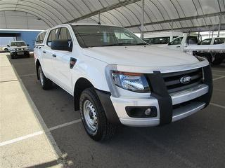 2014 Ford Ranger PX XL 2D Dual Cab Chassis (QFLEET) Photo