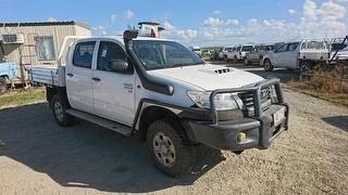 2012 Toyota Hilux SR (4x4) Dual Cab Chassis Photo
