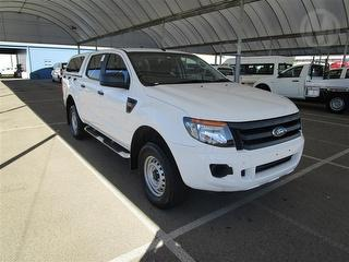 2014 Ford Ranger PX XL 4D Dual Cab Utility (QFLEET) Photo