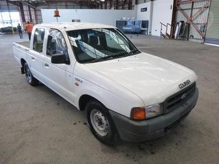 2001 Ford Courier PE GL 4D Dual Cab Chassis Photo