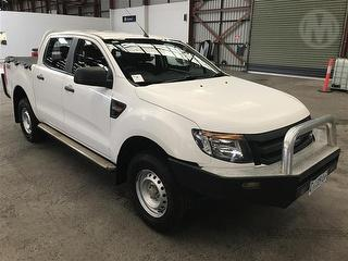 2011 Ford Ranger PX XL 4D X-cab Chassis Photo