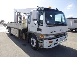 1998 Hino GH EWP (Truck mounted) 1 Key, Major Inspection OF EWP ON 7/2016 GCM 32,000kg Photo