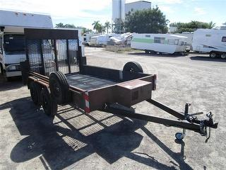 2003 Aspinall Tipping Trailer ATM 2,000kg Photo