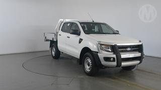 2014 Ford Ranger PX XL 4D Dual Cab Chassis (QFleet) Photo