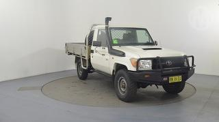 2010 Toyota Landcruiser 76/78/79 Series Workmate 2D Cab Chassis Photo