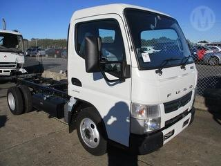 2016 Fuso Canter 515 Cab Chassis Key GCM 8,000kg Photo
