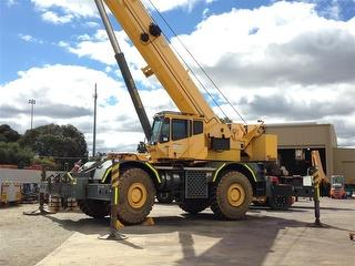 2010 Grove RT890E 80T Crane (Rough terrain) Offsite Located IN Perth SWL 80,000kg Photo