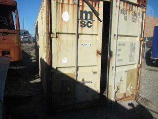 1993 Camargue 2sab Shipping container **Fitted out as electrical workshop - contents included** Photo