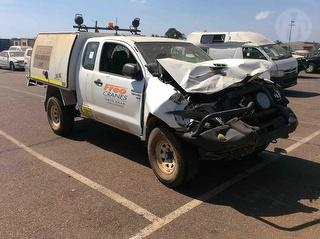 2010 Toyota Hilux 150 SR X-cab Chassis Photo