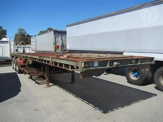 1987 Freighter ST3 Flat Top Trailer (unreg) ATM 35,000kg Photo