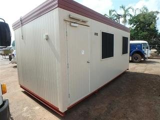 Site Office 20ft Demountable Photo