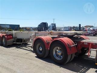 2008 O'Phee Triaxle Semi Trailer Skel A And B Combo ATM 39,000kg Photo