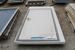 Metal Clad Door With Frame 2085mm X 950mm, 75mm Foa Location: Muchea, Colour: Wallaby Photo
