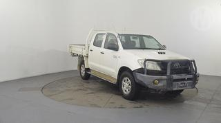 2011 Toyota Hilux 150 SR 4D Dual Cab Chassis Photo