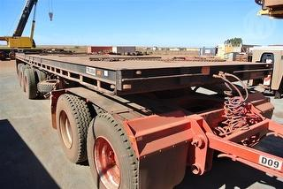 2010 GTE 30ft Flat Top Flat Top Trailer Ringfeder (unreg) ATM 44,000kg Photo
