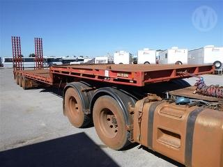 2012 Liberty Freightmore ST3 OD Drop Deck Electric Powered Ramps ATM 40,000kg Photo