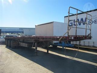 1988 Freighter ST3 Flat Top Trailer ATM 35,000kg Photo