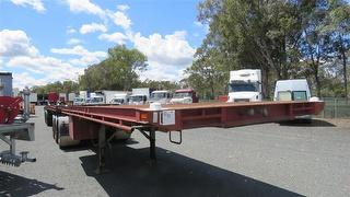 1993 Freightmaster ST2 Flat Top Trailer ATM 32,000kg Photo