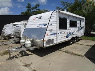 2016 New AGE Manta RAY MR19E Caravan Hail damage Photo