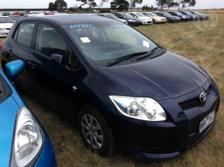 2009 Toyota Corolla ZRE15 Ascent Hatch Photo