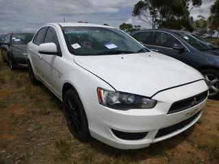 2008 Mitsubishi Lancer CJ ES Sedan 4D Sedan Photo
