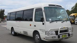 2011 Toyota Coaster Bus Seats 20  *unregistered,no plates* GVM 4,990kg Photo