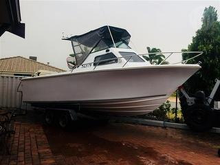 Chivers 6.2M fiberglass Boat (Sports cruiser) to BE Sold With Trailer, offsite located in thornlie Photo