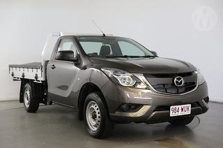 2016 Mazda BT-50 XT 2D Cab Chassis Photo