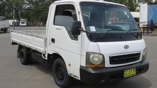 2003 Kia K2700 Tray GVM 3,300kg Photo