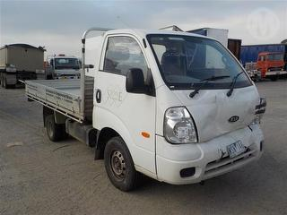 2008 Kia K2900 PU Tray Heavy Front Damage GVM 3,290kg Photo