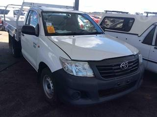 2012 Toyota Hilux 150 Workmate Cab Chassis Photo
