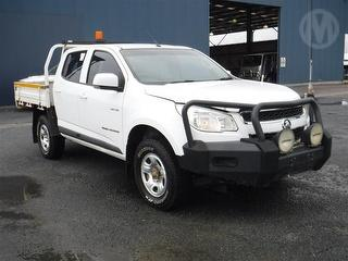 2013 Holden Colorado RG LX 4D Dual Cab Chassis Photo