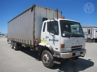2006 Fuso FN600 Curtainside Key, Tail Lift Control IN Office GCM 29,000kg Photo
