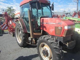 Case International CX80 Tractor LOCATED AT HEXHAM - FWA, PTO, Tyres 13.6x38 Rear, 12.4x24 Front Photo