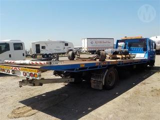 2007 Mitsubishi Fighter FM67 Tow truck (Tilt/Slide) Heavy Underbody Damage GCM 25,000kg Photo