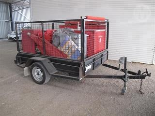 2004 Modern Trailers 7X5 Mobile Coffee Cart ATM 750kg Photo