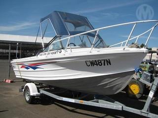 Quintrex Cruiseabout 510 Boat (Runabout) *12 Months Registration* Photo