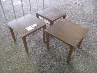 3 Magazine Tables Office Furniture Photo