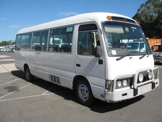 2001 Toyota Coaster 50series Bus 21 Seats GVM 4,990kg Photo