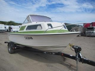 Cruise Craft Regal Boat Mechanical Issue - Engine - For Restoration - Sold with Midwest Trailer MN 5 Photo