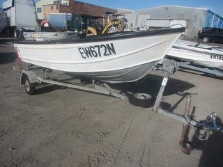 Stessl Boat Boat For restoration - Sold with MarlinTrailer MN 5224568 Lot 645 Photo