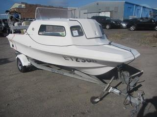 Swift Craft Kingfisher 4.5 Boat For Restoration - Sold with Felk trailer MN 5224610 Photo