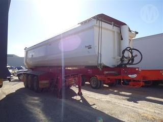 2013 Roadwest Transport Equipment TRI 350 Tipping Trailer ATM 44,000kg Photo