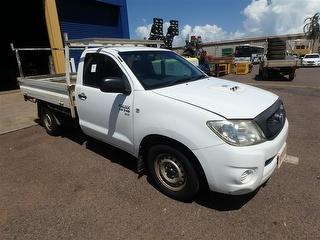 2008 Toyota Hilux 150 SR 2D Cab Chassis Photo