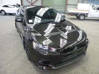 2012 Mitsubishi Lancer CJ Evolution X 4D Sedan Photo