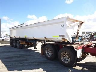 2002 General Transport Equipment 3-2 Side Tipping Trailer ATM 43,000kg Photo