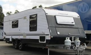 2012 Imperial Crown Caravan Full Fitout. Ensuite/laundry,annexe/awning, Loads of Extras ATM 2,750kg Photo