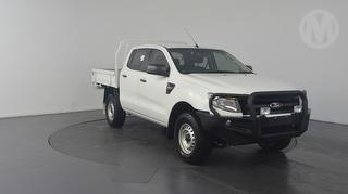 2014 Ford Ranger PX XL 4D Dual Cab Chassis Photo